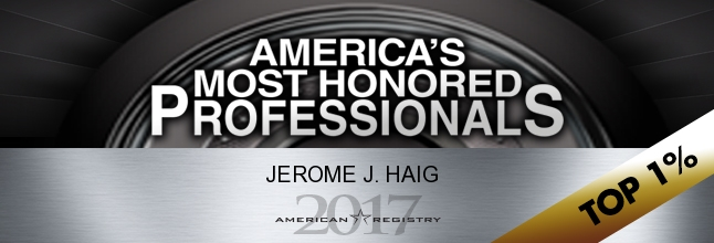 America's Most Honored Professionals Badge